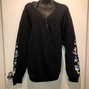 Plus Size 1X Disney sweatshirt - daisy & daffy